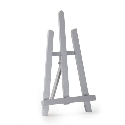 "Grey Colour Easel Essex 16"" - Beech Wood"